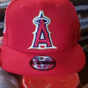 New Era Angels snap back hat